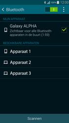 Samsung Galaxy Alpha 4G (SM-G850F) - Bluetooth - Aanzetten - Stap 6