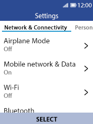 Nokia 8110 Banana - Internet - Manual configuration - Step 4