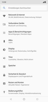 Nokia 6.1 Plus - Ausland - Auslandskosten vermeiden - Schritt 6
