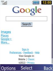 Samsung C3350 Xcover 2 - Internet - Internet browsing - Step 9