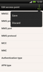 HTC Desire X - MMS - Manual configuration - Step 14