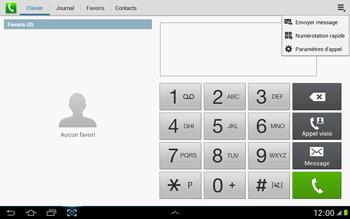 Samsung N8000 Galaxy Note 10-1 - Messagerie vocale - Configuration manuelle - Étape 5