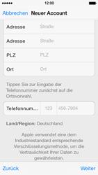 Apple iPhone 5 - Apps - Konto anlegen und einrichten - 32 / 36