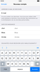 Apple iPhone 6 Plus - Applications - Créer un compte - Étape 16