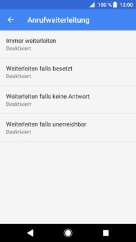 Sony Xperia XA2 Ultra - Anrufe - Rufumleitungen setzen und löschen - Schritt 9