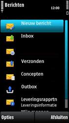 Nokia X6-00 - SMS - handmatig instellen - Stap 4