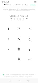 Oppo Reno 2Z - Sécuriser votre mobile - Activer le code de verrouillage - Étape 9