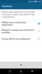HTC Desire 626 - Sécuriser votre mobile - Activer le code de verrouillage - Étape 11