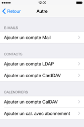 Apple iPhone 4 S - iOS 8 - E-mail - Configuration manuelle - Étape 6