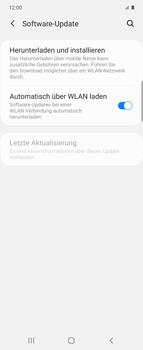 Samsung Galaxy Z flip - Software - Installieren von Software-Updates - Schritt 5