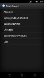 Sony Xperia T - Internet und Datenroaming - Manuelle Konfiguration - Schritt 20