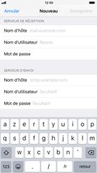Apple iPhone 6s - iOS 11 - E-mails - Ajouter ou modifier un compte e-mail - Étape 12