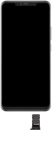 Huawei Mate 20 Pro - Toestel - Simkaart plaatsen - Stap 8
