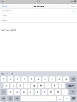 Apple iPad 2 iOS 9 - E-mail - Sending emails - Step 6