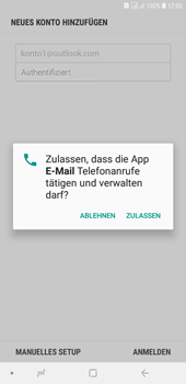 Samsung Galaxy J4+ - E-Mail - Konto einrichten (outlook) - 10 / 14