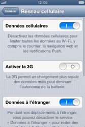 Apple iPhone 3GS - Internet et roaming de données - Désactivation du roaming de données - Étape 5