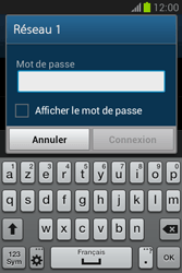 Samsung Galaxy Fame Lite - WiFi - Configuration du WiFi - Étape 7