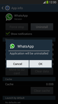 Samsung Galaxy Note III LTE - Applications - How to uninstall an app - Step 8