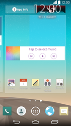 LG G3 - Getting started - Installing widgets and applications on your start screen - Step 9