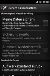Sony Xperia E - Fehlerbehebung - Handy zurücksetzen - 7 / 10