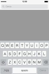 Apple iPhone 4S iOS 7 - Applicazioni - Installazione delle applicazioni - Fase 12