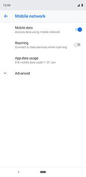 Google Pixel 3XL - Network - Usage across the border - Step 6