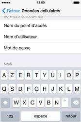 Apple iPhone 4 S - iOS 8 - Internet - Configuration manuelle - Étape 7