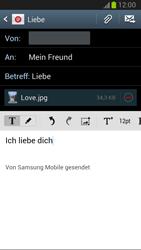 Samsung Galaxy Note 2 - E-Mail - E-Mail versenden - 15 / 17