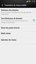 HTC One - Aller plus loin - Désactiver les données à l'étranger - Étape 6