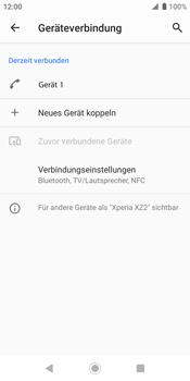 Sony Xperia XZ2 - Android Pie - Bluetooth - Geräte koppeln - Schritt 10