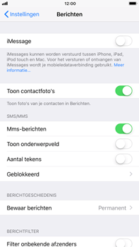 Apple iPhone 7 Plus iOS 11 - MMS - probleem met ontvangen - Stap 11