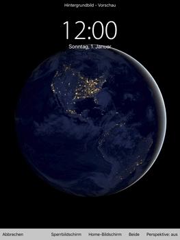 Apple iPad mini 2 - iOS 11 - Hintergrund - 7 / 8
