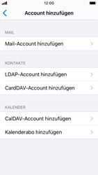 Apple iPhone SE - iOS 14 - E-Mail - Manuelle Konfiguration - Schritt 6