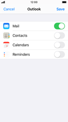Apple iPhone SE - iOS 13 - E-mail - 032c. Email wizard - Outlook - Step 8