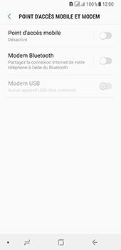 Samsung Galaxy A8 - Internet et connexion - Partager votre connexion en Wi-Fi - Étape 6