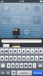 Apple iPhone 5 - Prise en main - Personnalisation de votre écran d