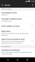 HTC Desire 816 - Sécuriser votre mobile - Activer le code de verrouillage - Étape 12