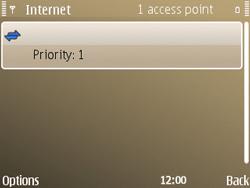 Nokia E72 - Internet - Manual configuration - Step 14
