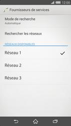 Sony Xperia Z2 - Réseau - Sélection manuelle du réseau - Étape 12