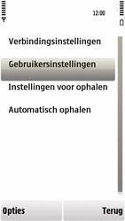 Nokia 5230 - e-mail - handmatig instellen - stap 26