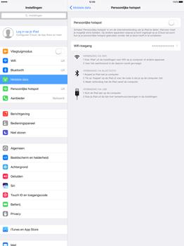 Apple iPad Pro 12.9 inch (Model A1671) - WiFi - Mobiele hotspot instellen - Stap 4