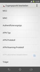 Sony Xperia Z1 Compact - Internet - Apn-Einstellungen - 0 / 0