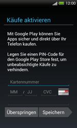 HTC One SV - Apps - Konto anlegen und einrichten - 14 / 18