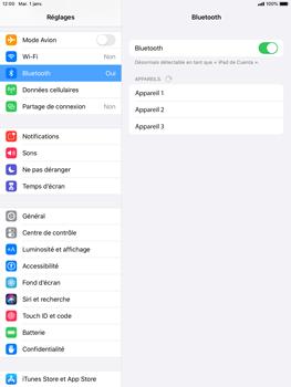 Apple iPad Air 2 - iPadOS 13 - Bluetooth - connexion Bluetooth - Étape 7