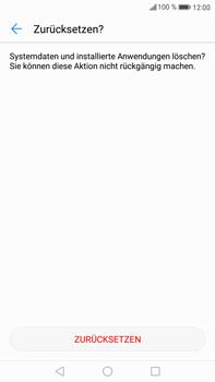 Huawei Mate 9 - Fehlerbehebung - Handy zurücksetzen - Schritt 9