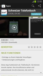 Samsung Galaxy S III - Apps - Installieren von Apps - Schritt 7
