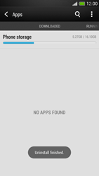 HTC One Mini - Applications - How to uninstall an app - Step 8
