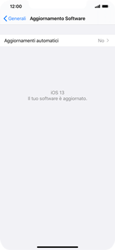 Apple iPhone XR - iOS 13 - Software - Installazione degli aggiornamenti software - Fase 6