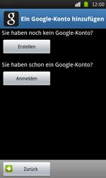 Samsung Galaxy S - Apps - Konto anlegen und einrichten - 5 / 21