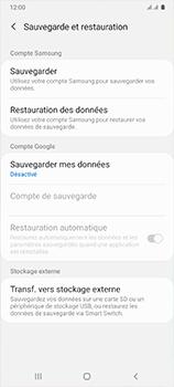 Samsung Galaxy A41 - Aller plus loin - Gérer vos données depuis le portable - Étape 9